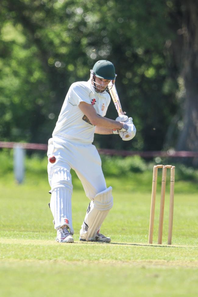 Nick Flack in bat fir Chirk.Chirk Cricket Club VS Northop..cc060518CN.