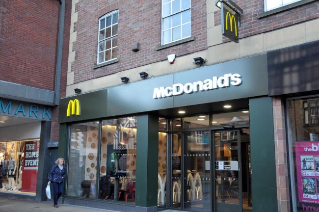 McDonald's on Foregate Street, Chester