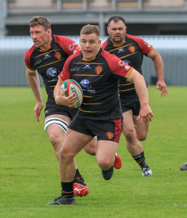 RGC co-captain Evan Yardley will join Cardiff (Photo by Tony Bale)