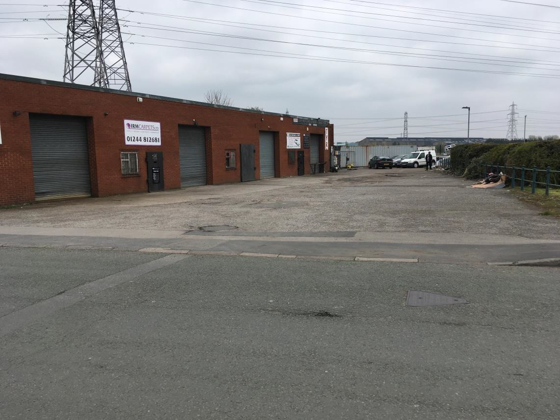 Plans entered to demolish six industrial units in Connah's Quay and build to large warehouses