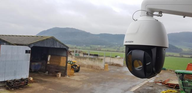 More farms in North Wales are installing CCTV amid a rise in livestock, tractor and quadbike thefts. Picture: NFU Mutual