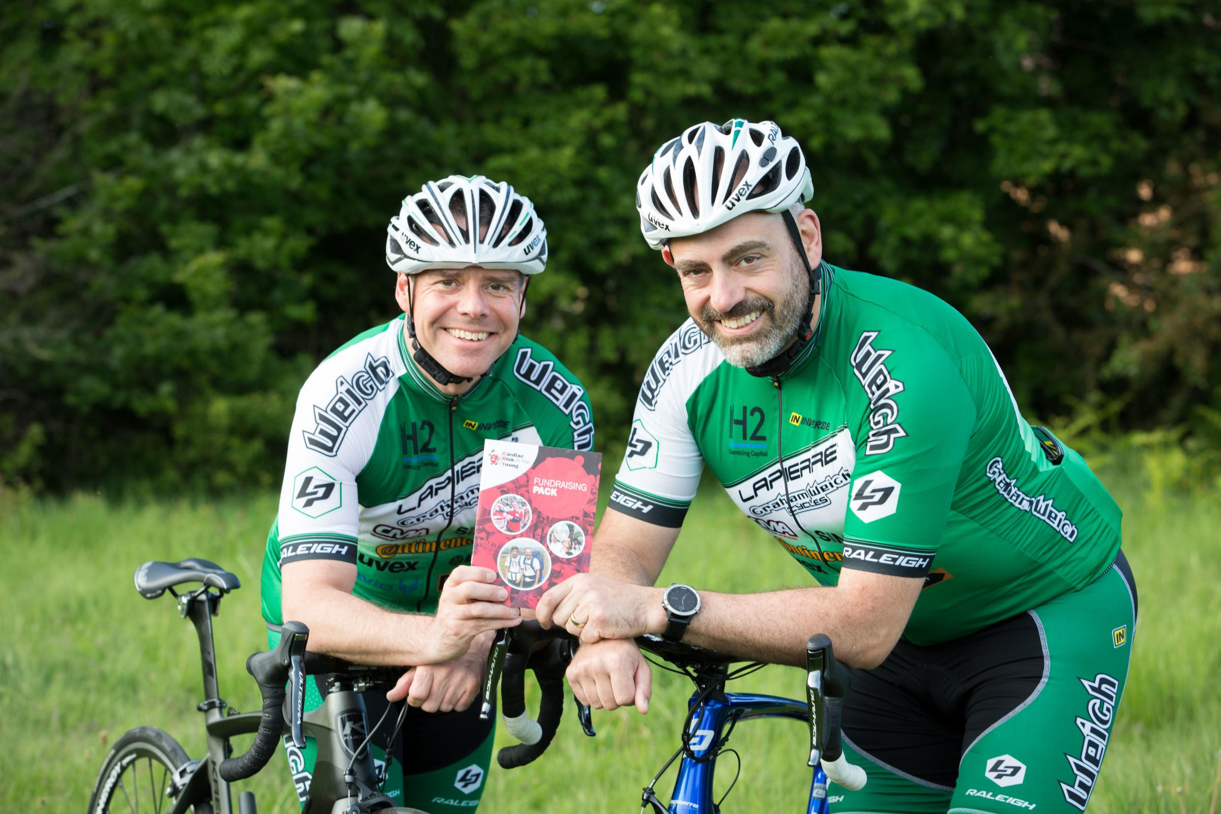Connah's Quay men to cycle over 900 miles in memory of their late friend