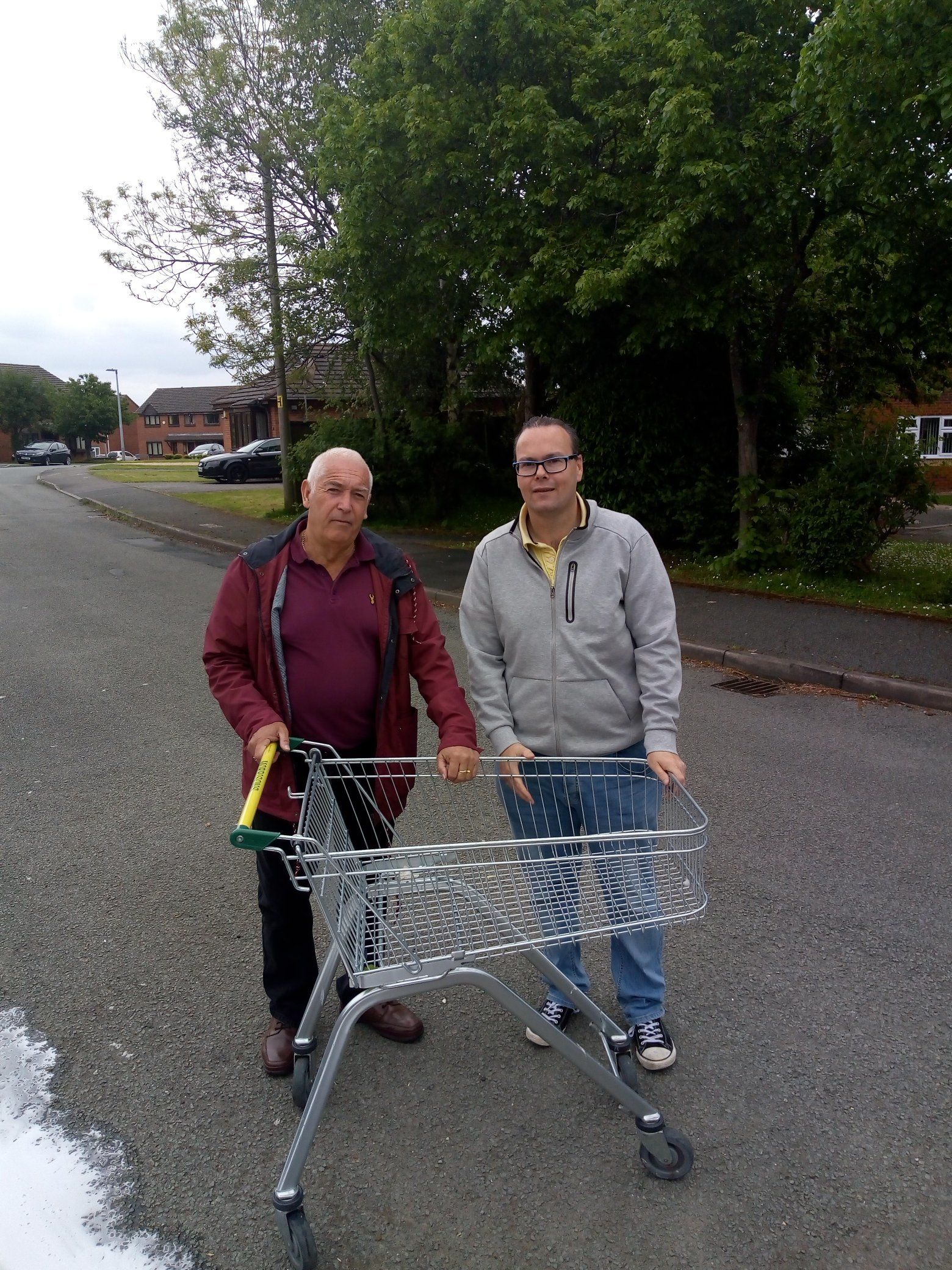 Councillors take action on abandoned trolleys around Connah's Quay