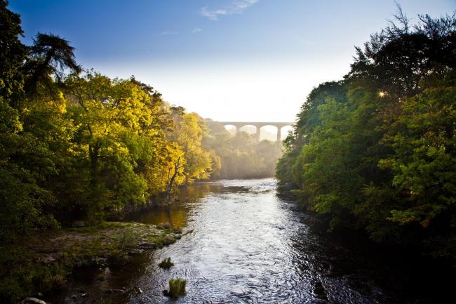 Pontcysyllte Aqueduct, World Heritage site in Wrexham