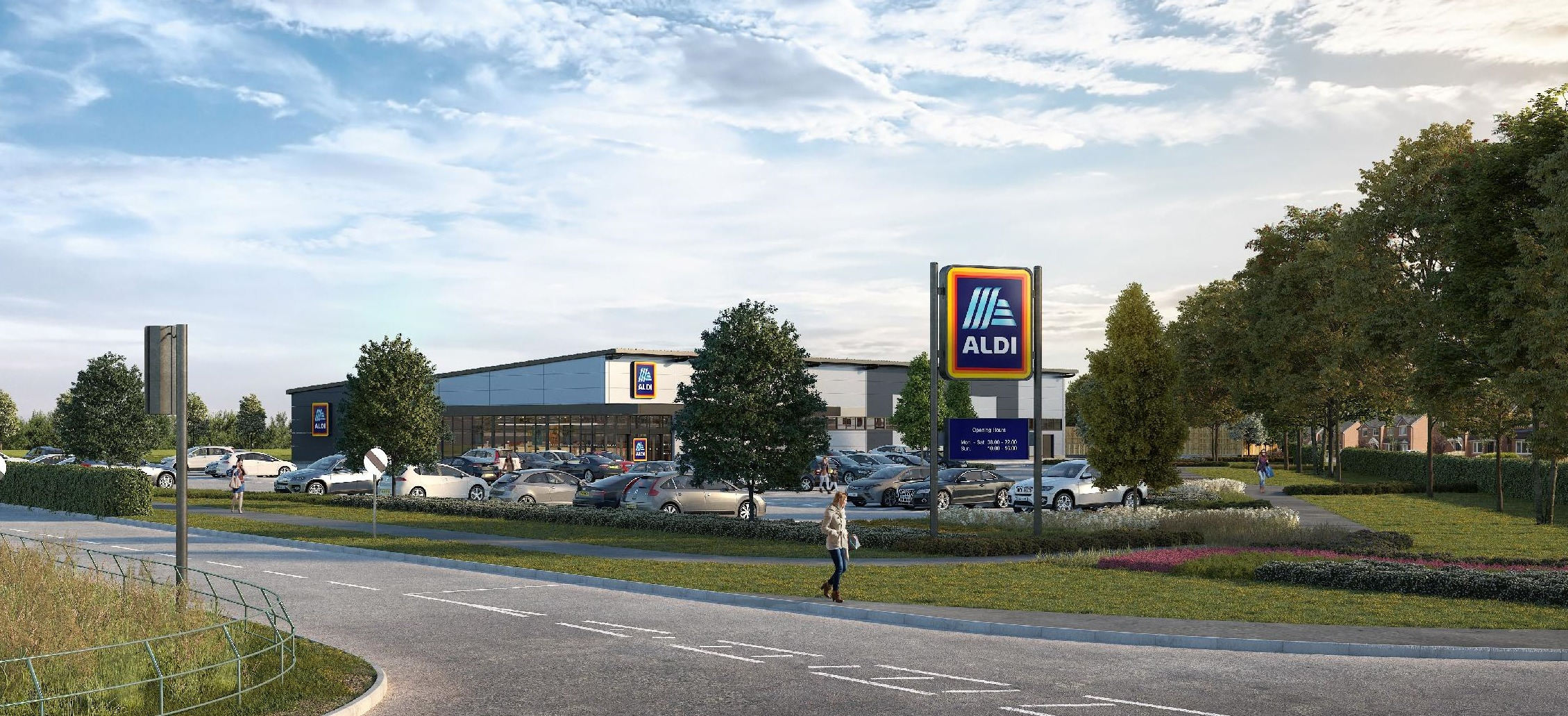 Aldi store would not be built in Llay unless crossroads is improved