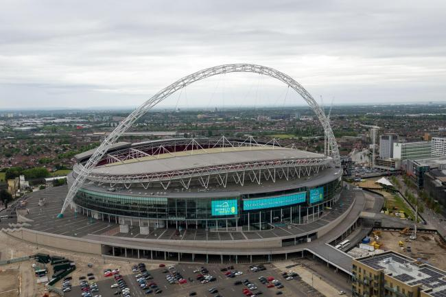 Wembly Stadium. Image from PA.
