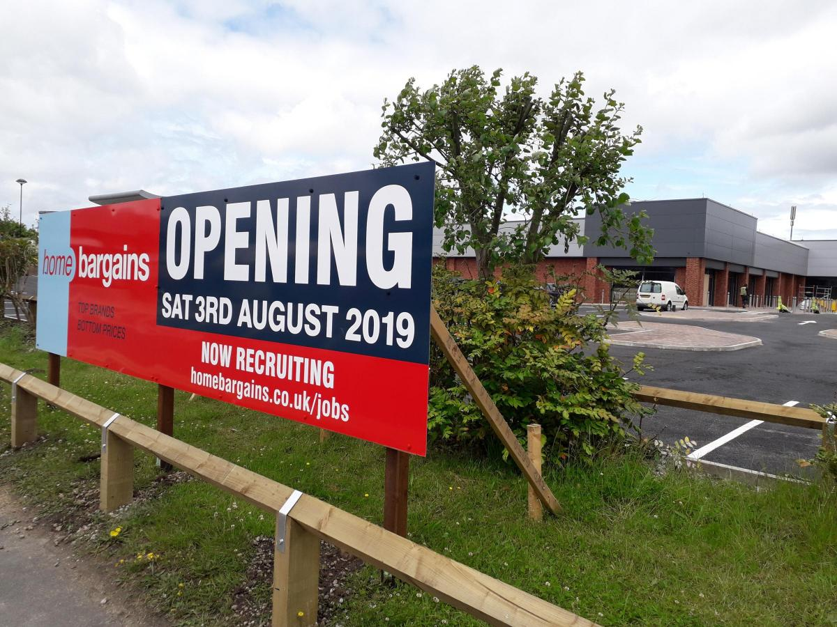 Mold S Home Bargains Announces Opening Date And Jobs The Leader