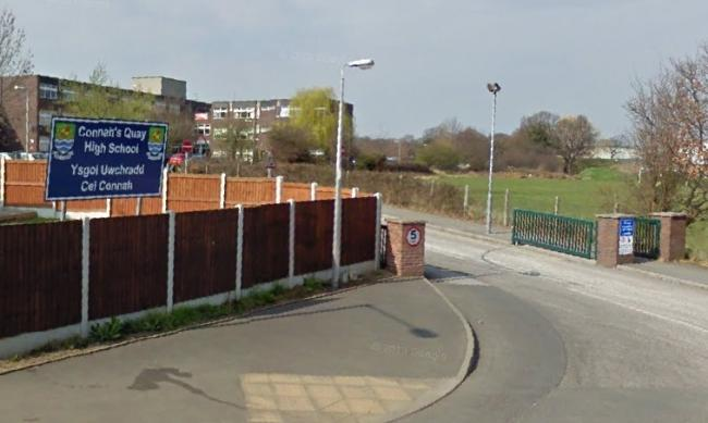 Connah's Quay High School. Source: Google