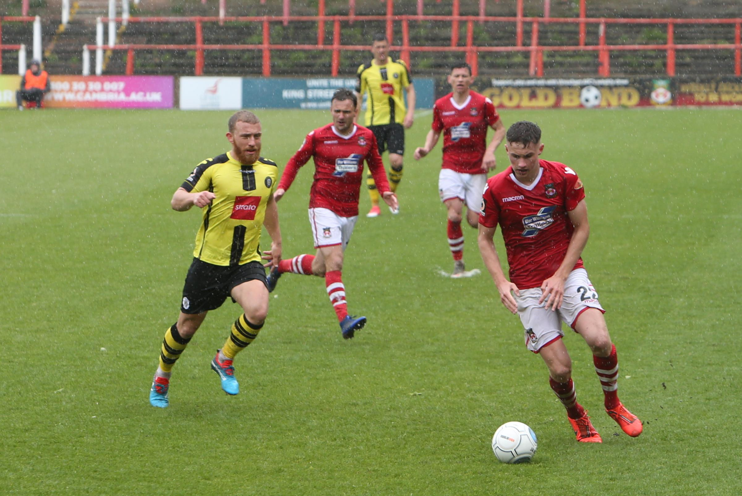 Wrexham AFC first year pro Matty Sargent hungry for more senior action after making the breakthrough