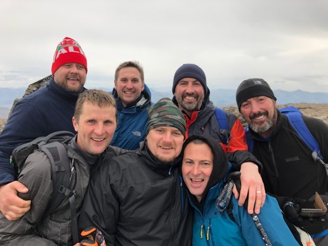 Group takes on three peaks challenge to raise funds for friend