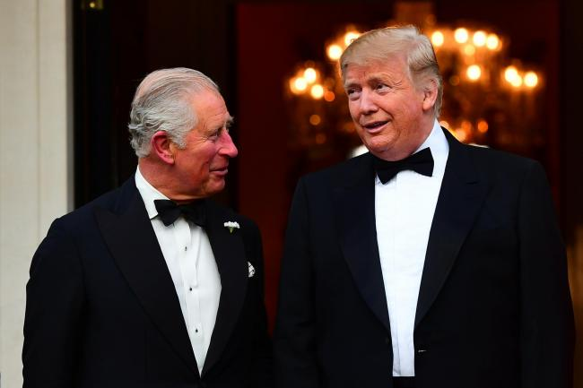 Donald Trump tweets that he just met with 'the Prince of Whales'