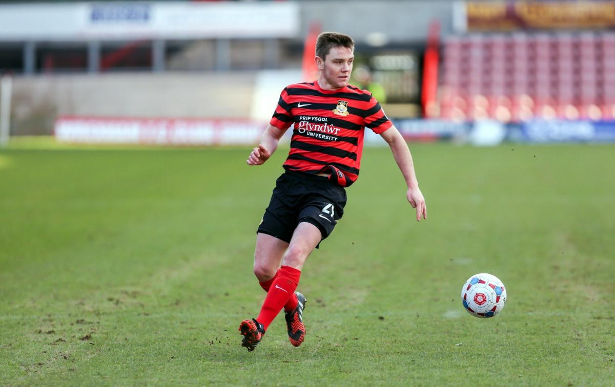 Midfielder Sam Finley was close to signing for Wrexham AFC